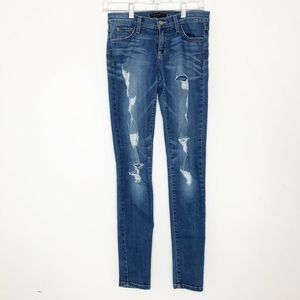 Flying Monkey Distressed/Destroyed Skinny Jeans